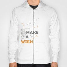 Make a wish orange Hoody