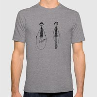 Unlike Eloise, Ramona had mastered the jump rope. Mens Fitted Tee Athletic Grey SMALL