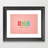 Real Great Buds Framed Art Print