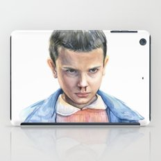 Eleven Stranger Things Watercolor Portrait iPad Case