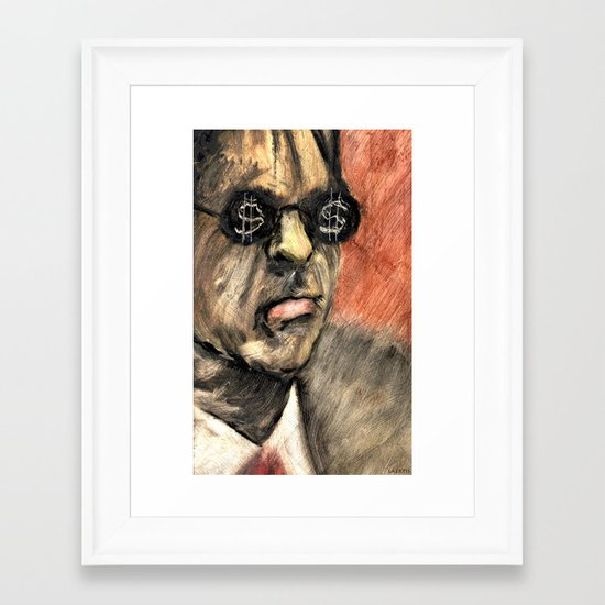 GRIFTERS Framed Art Print