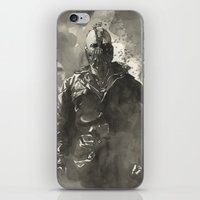 TDKR-bane iPhone & iPod Skin