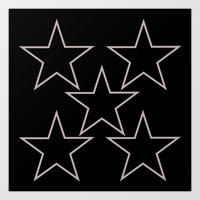 stars 6 Art Print