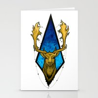 Big Buck  Stationery Cards