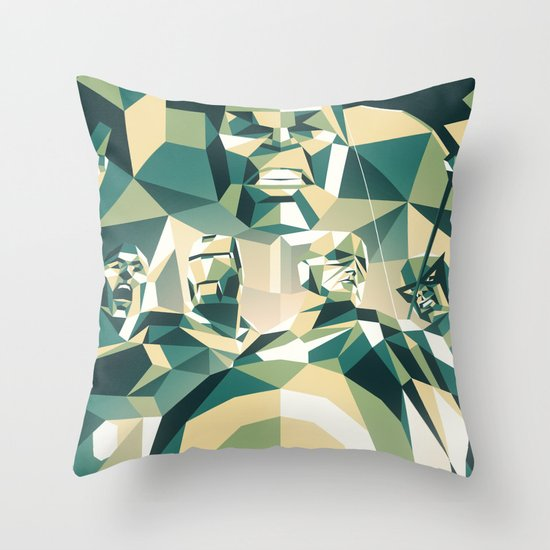 A Team Throw Pillow
