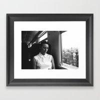 Genoa To Portofino By Ra… Framed Art Print