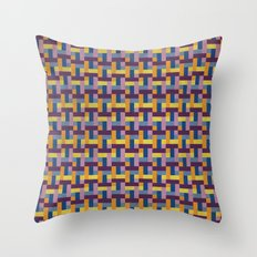 Woven Pixels V Throw Pillow