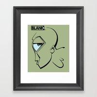 BLANKM GEAR - MR. GREEN … Framed Art Print