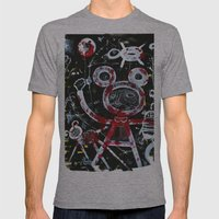 Vacation Mens Fitted Tee Athletic Grey SMALL