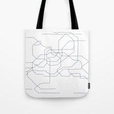 Seoul Subway Tote Bag