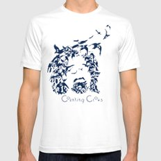 Counting Crows Mens Fitted Tee White SMALL