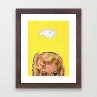 Partly Sunny Framed Art Print