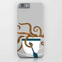 iPhone & iPod Case featuring Octopus in a Teacup by Rachel Russell