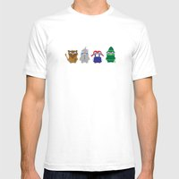 Pengwins That Are Follow… Mens Fitted Tee White SMALL