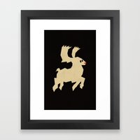 Rudolph Framed Art Print