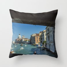 Grand Canal by Day Throw Pillow