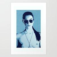 Stoya Art Print