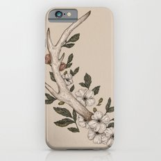 Floral Antler iPhone 6 Slim Case