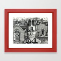 Cemetery Framed Art Print