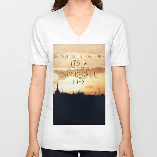 It's A Wonderful Life V-neck T-shirt