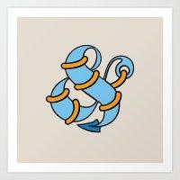 Et Anchor Art Print