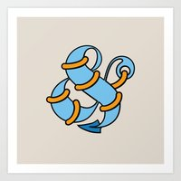 Et Anchor Art Print