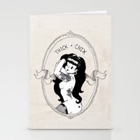 THICK-CHIX Stationery Cards