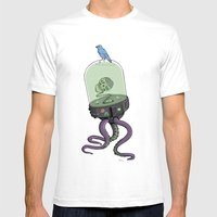 Put A Bird On It Mens Fitted Tee White SMALL