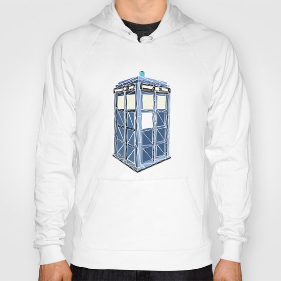 The Tardis Hoody
