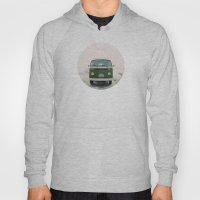 LIVE SIMPLY. Vintage Volkswagen Van.  Hoody