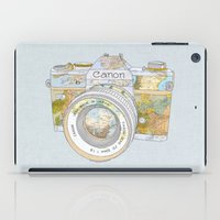 Travel Canon iPad Case