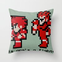 This One's A Fighter Throw Pillow