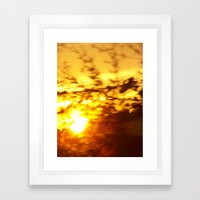 Crepusular Light Framed Art Print