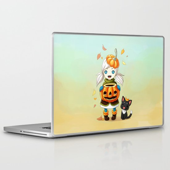 Pumpkin 2 Laptop & iPad Skin