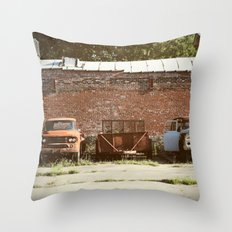 Bone Yard Throw Pillow