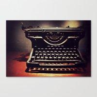 Typer's Drream Canvas Print