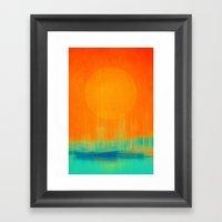 Marina Dream Framed Art Print