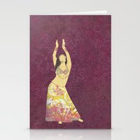 Belly Dancer 13 Stationery Cards