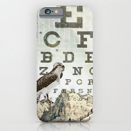 eye chart II iPhone & iPod Case