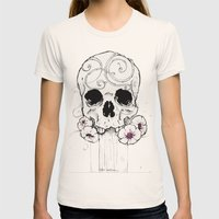 23981 Womens Fitted Tee Natural SMALL