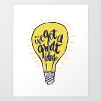 ...good Idea. Art Print