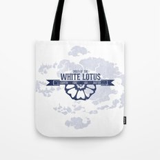 Order of the White Lotus World Map Tote Bag