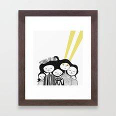 Best things Framed Art Print