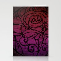 Scarred Rose Stationery Cards