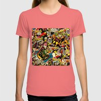 Unexpected - Part III [F… Womens Fitted Tee Pomegranate SMALL