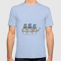The Three Wise Men Mens Fitted Tee Athletic Blue SMALL