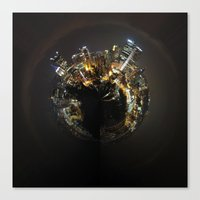 Planet Pittsburgh Canvas Print