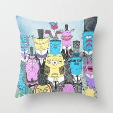 A Few Good Monsters Throw Pillow