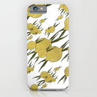 iPhone Cases featuring Lemons Pattern by VanessaGF