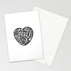 Iron heart (B&W Edition) - PM Stationery Cards